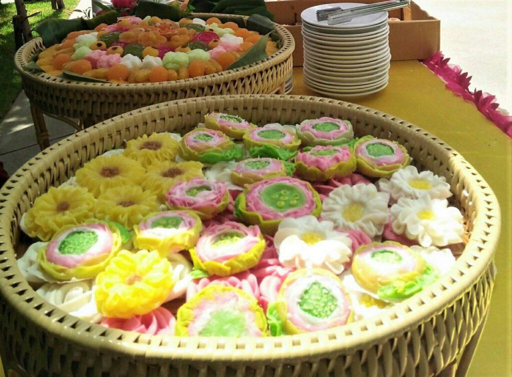 ขนมไทยงานเลี้ยงตื่นตาในความเป็นไทยกับบรรยากาศร่วมสมัย